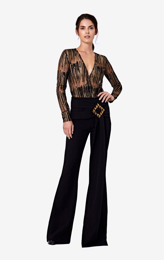 Aza Wide Leg Trousers