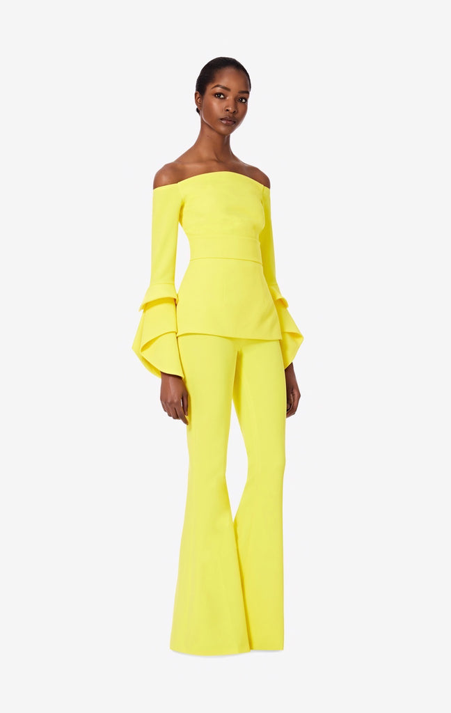 Blazing Yellow Halluana Trousers