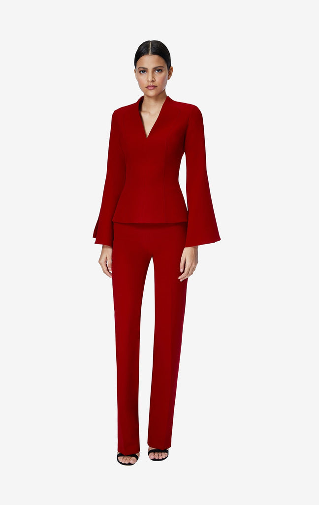 Goldie Azalea Red Trousers
