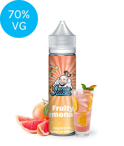 Fruity Lemonade (50ml) Shortfill - Genie Juices