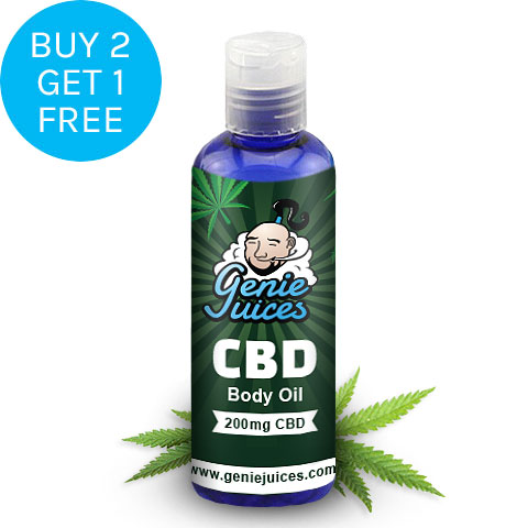 CBD Body Oil 100ml - Genie Juices