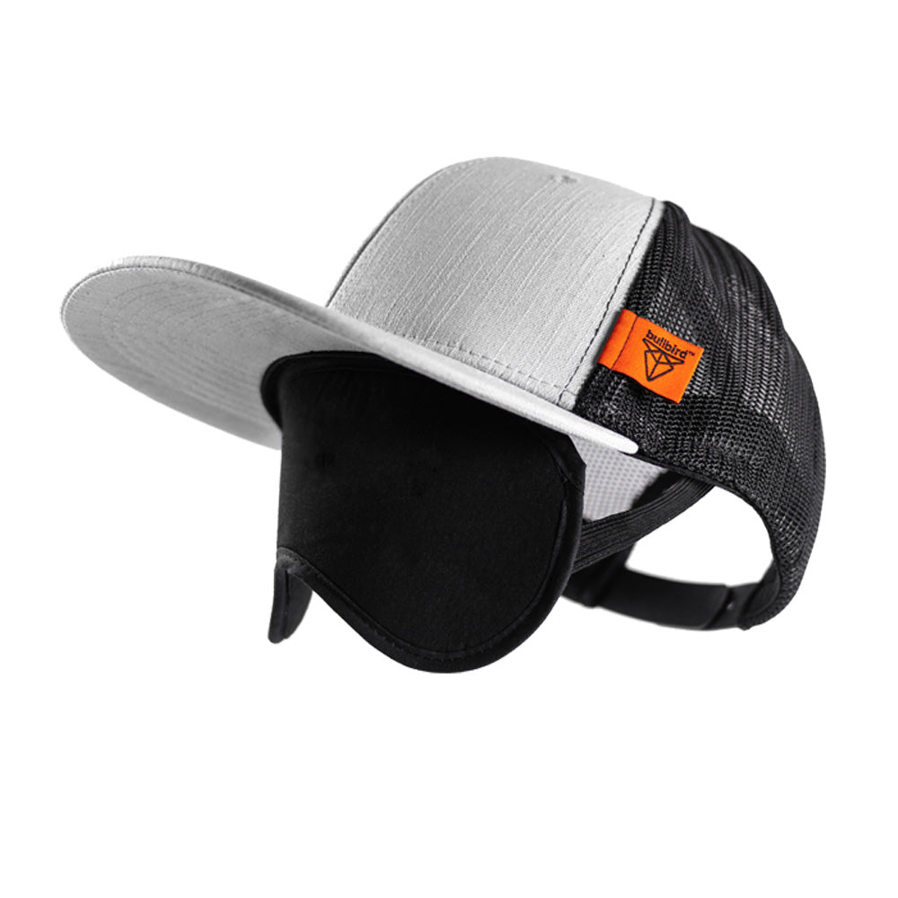 Travel Cap With Integrated Sleep Mask