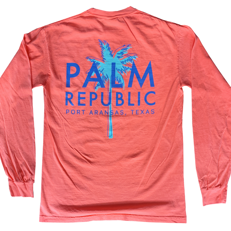 As the Sun Neon Havana Tee Long Sleeve