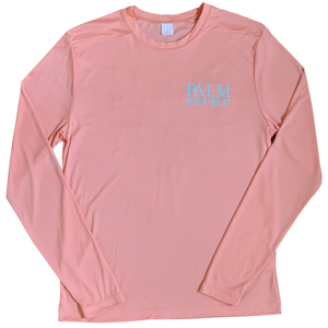 Coral Long Sleeve Location Fishing Shirt