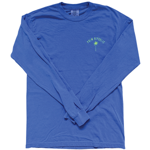 Moontower Blue Havana Tee Long Sleeve