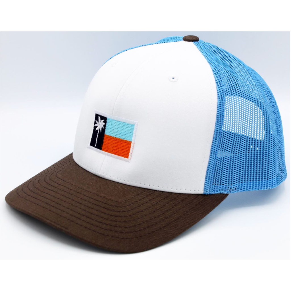 The Jetty Mesh Sportsman's Flag Cap