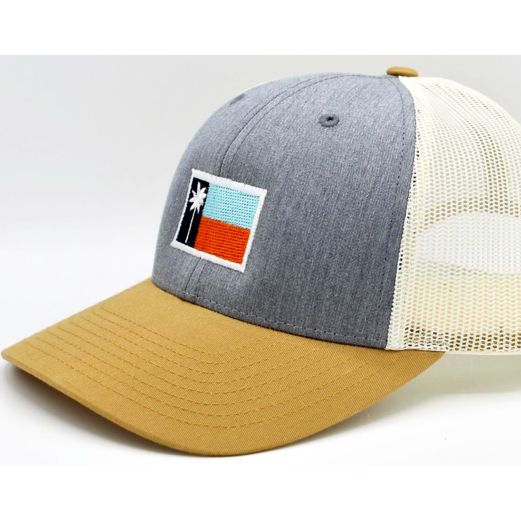 The Pier Mesh Sportsman's Flag Cap