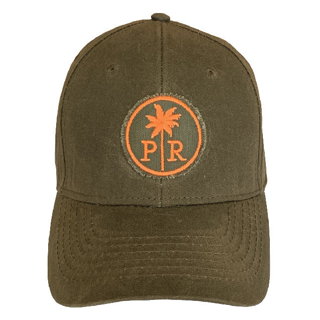 Waxed Cotton Outdoors Cap