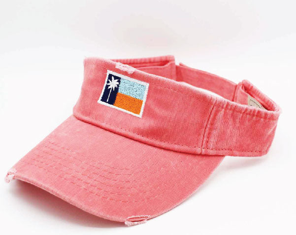 Coral Weathered Visor