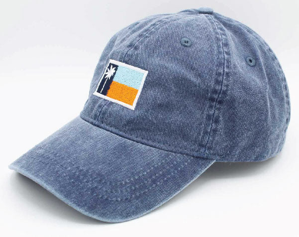 Washed Navy Classic Flag Baseball Cap