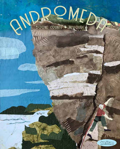 Andromeda Climbing - Full Color Poster Size 12x16