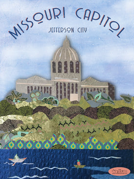 Missouri Capitol Poster or Postcard