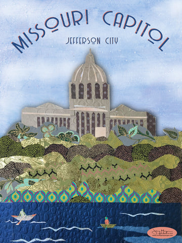 Missouri Capitol - Full Color Poster Size 12x16