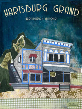 The Hartsburg Grand Poster or Postcard