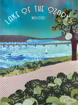 Lake of The Ozarks Poster or Postcard