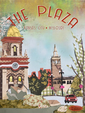 The Plaza, KC Poster or Postcard