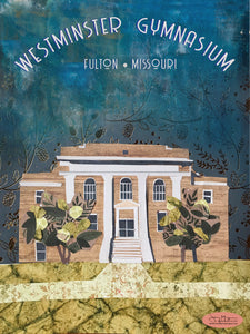 Historic Westminster Gymnasium - Full Color Poster Size 12x16