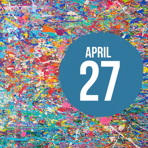April 27 Painting Workshop - Splatter Technique