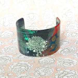 Tree of Life II Hand painted Cuff - 1.5""