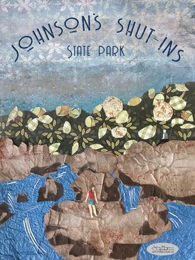 Johnson's Shut-Ins State Park Poster or Postcard