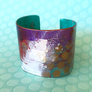 Bright - Hand painted Cuff - 2""