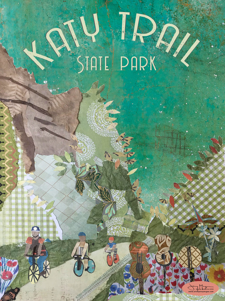 Katy Trail State Park Poster or Postcard