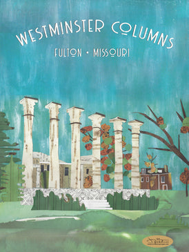 Westminster Columns Poster