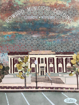 Howard Municipal Building Poster or Postcard
