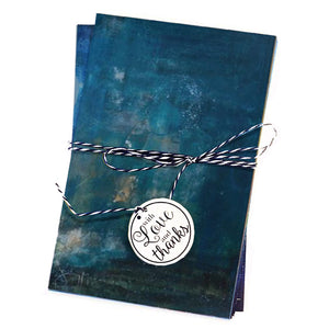 Blue 2 Greeting Cards