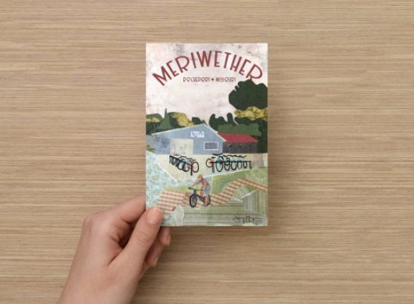 Meriwether Café and Bike Shop Poster or Postcard