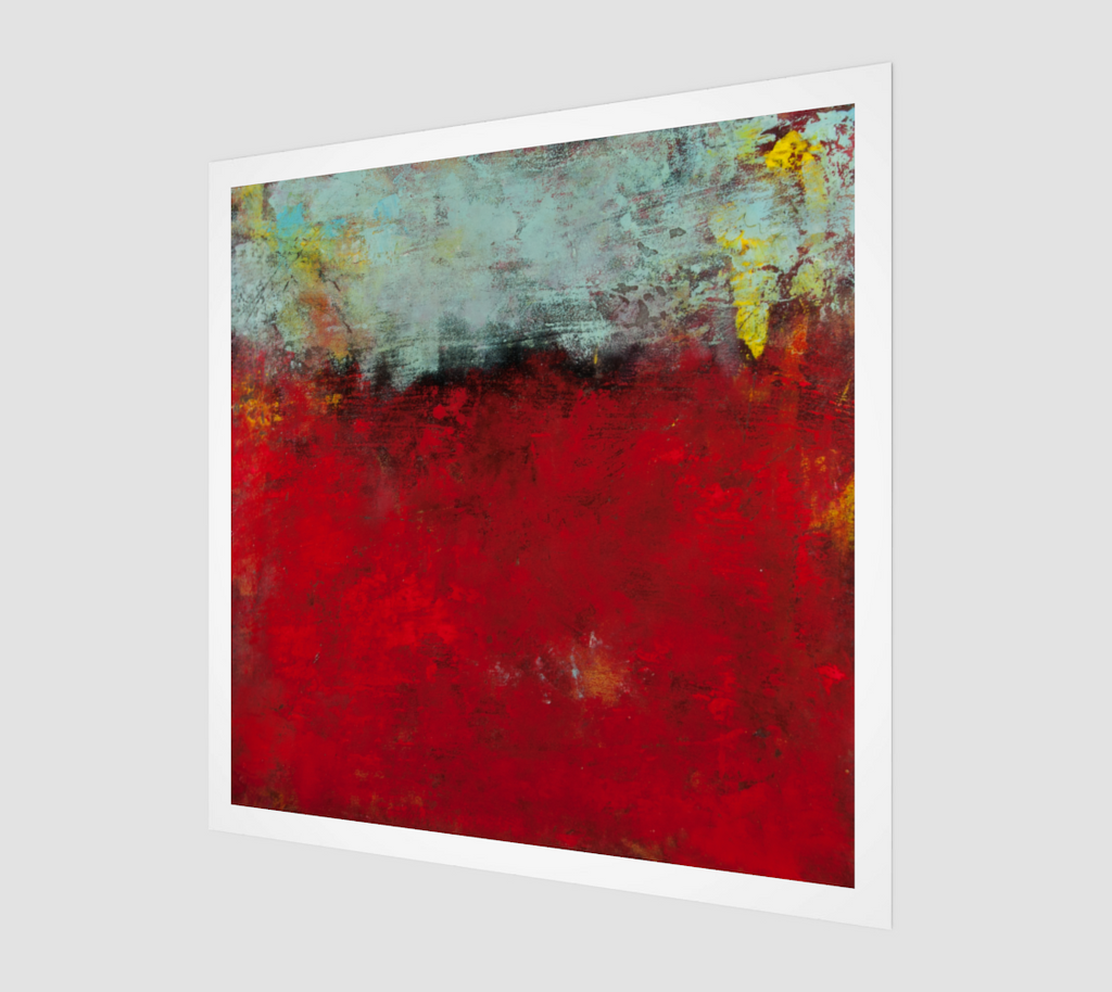 Passion in Red by Jenny McGee - Fine Art Print