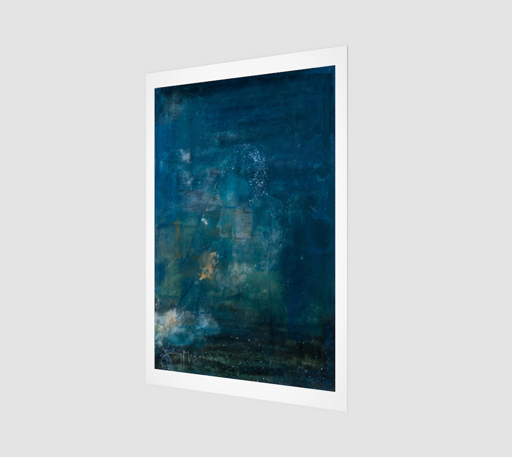 Blue 2 by Jenny McGee - Fine Art Print