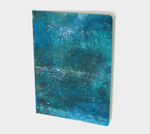 Rays in the Water by Jenny McGee - Large Sketchbook