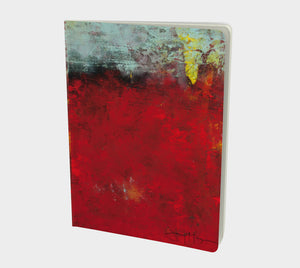 Passion in Red by Jenny McGee - Large Sketchbook