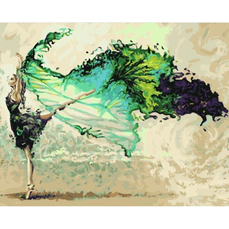 Ballet - Canvastly DIY Paint By Numbers - 40x50cm/16x20''