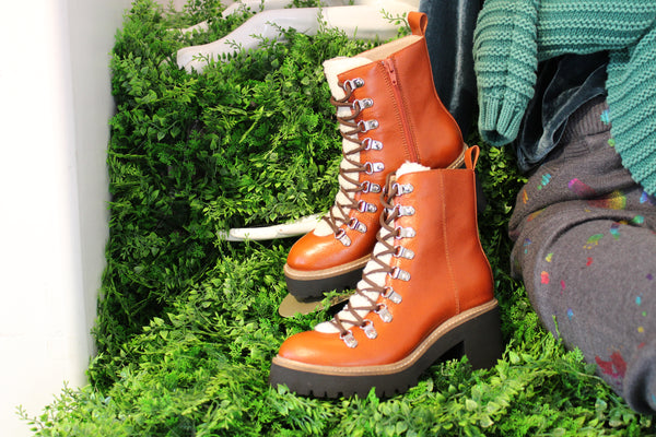 Jeffery Campbell OWHAT lumber jack boots