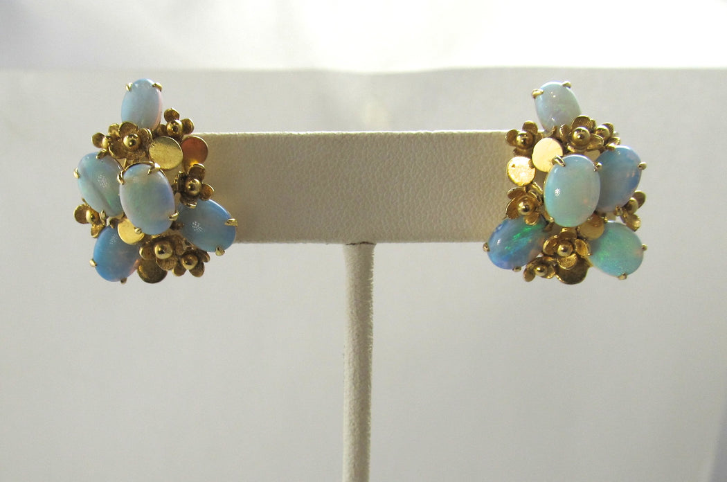 Vintage opal earrings, Victorious Cape May