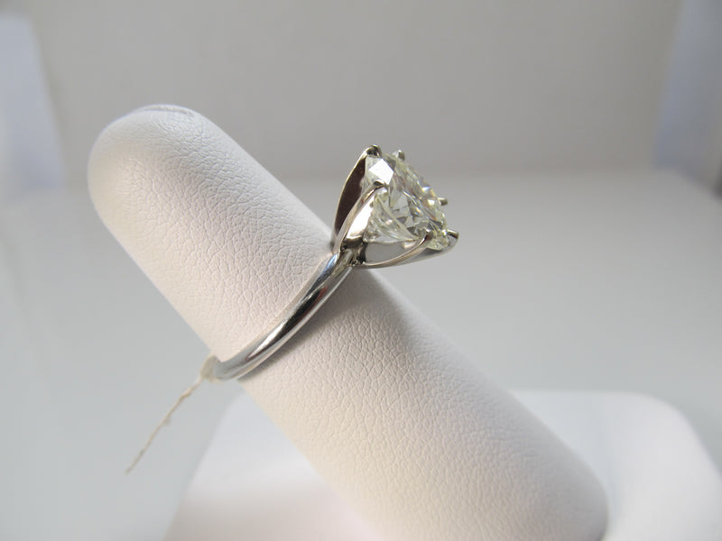 Fantastic 4.18ct diamond solitaire ring