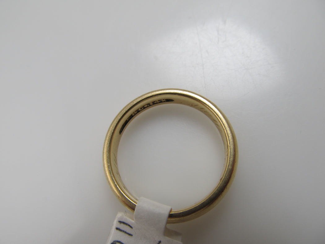 Dated 1909, 14k wedding band