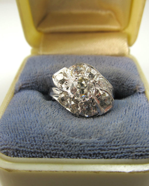 Vintage diamond ring, victorious cape may
