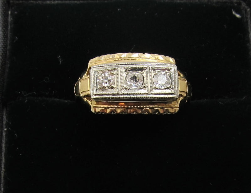 vintage diamond ring, antique jewelry, Victorious, Cape May