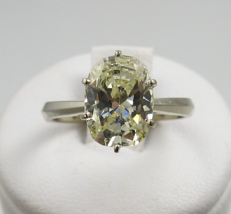 Vintage oval diamond ring, Victorious Cape May