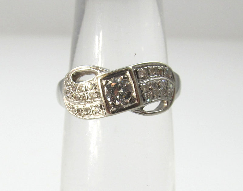 vintage diamond band ring, victorious cape may