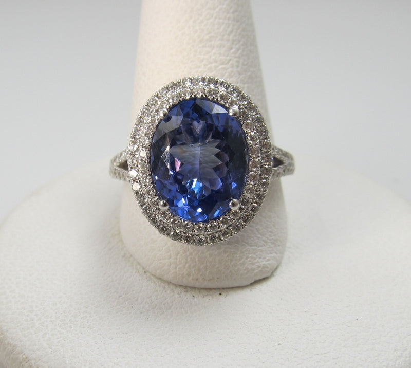 estate tanzanite diamond ring, victorious cape may