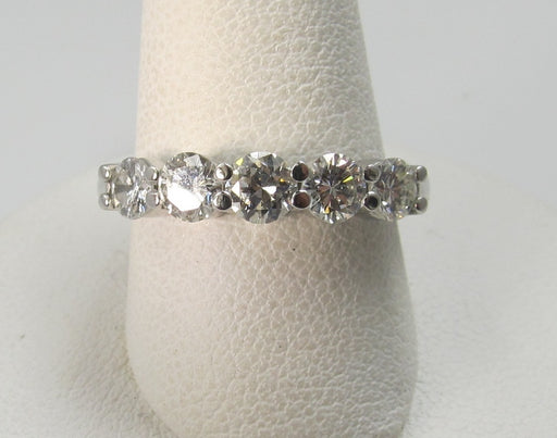 2.27ct Diamond Eternity Band In 14k White Gold