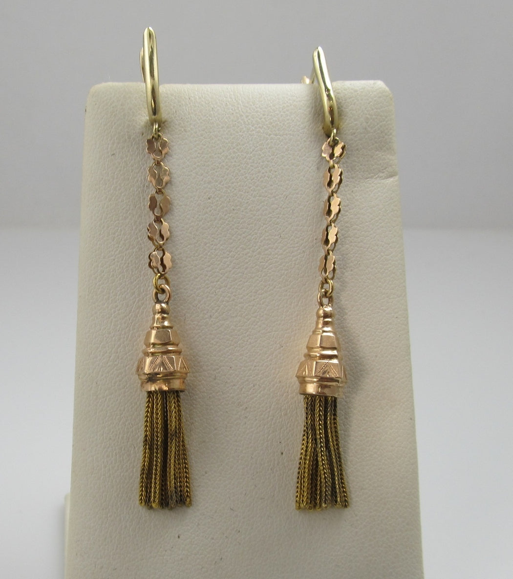 victorian tassel earrings, victorious cape may