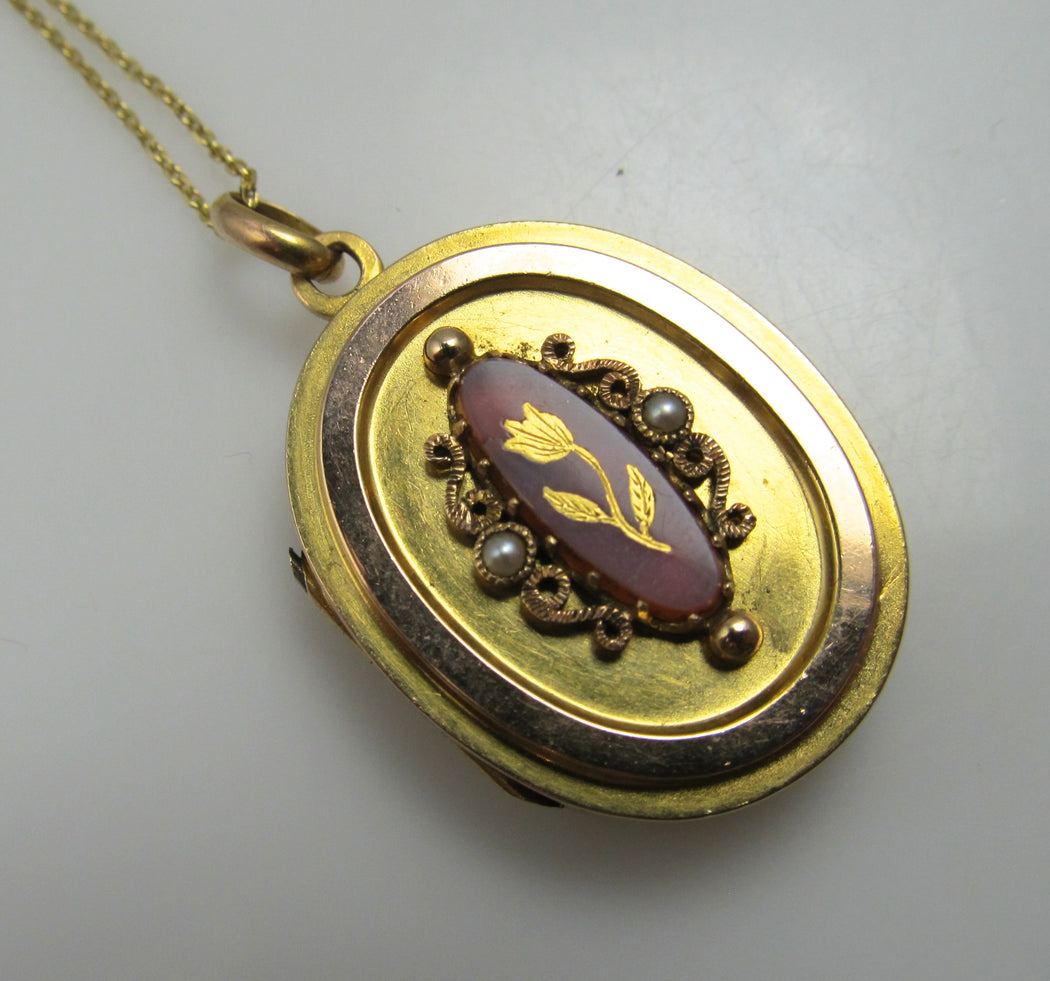 antique gold locket, victorious cape may