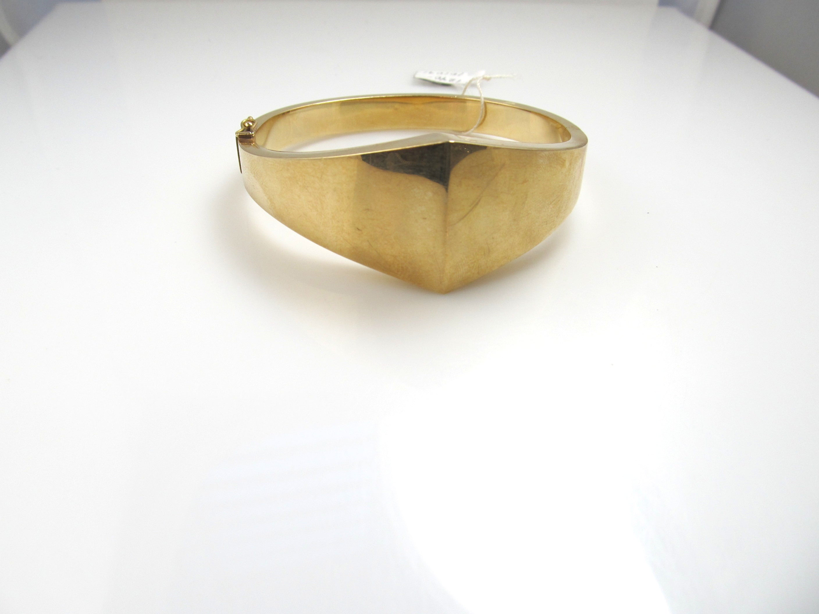 ct bangle gold diamond hinged in bracelet itm ebay