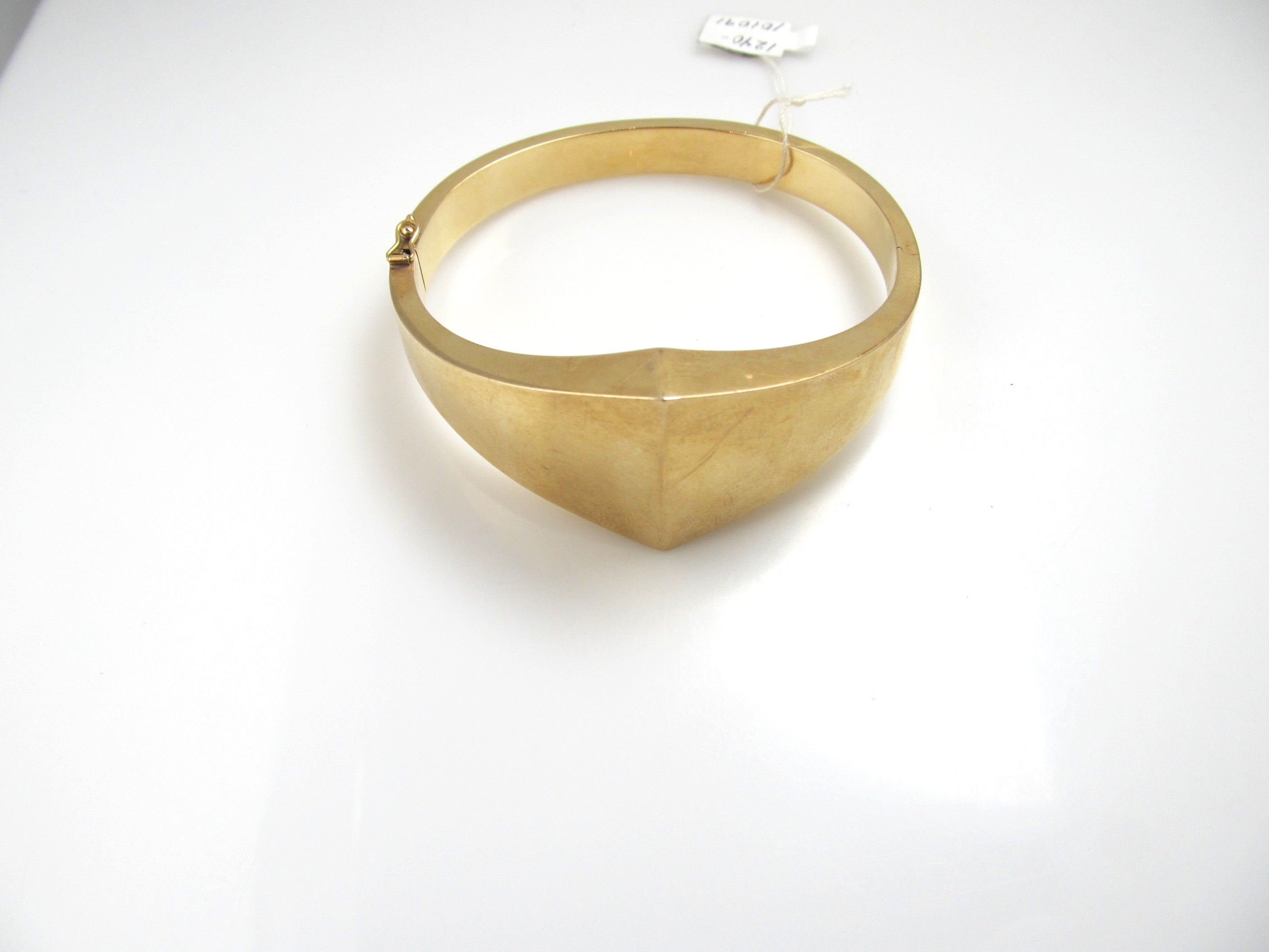 jewellery kent gold pattern bangle bracelet products rosie scallop yellow portico bangles