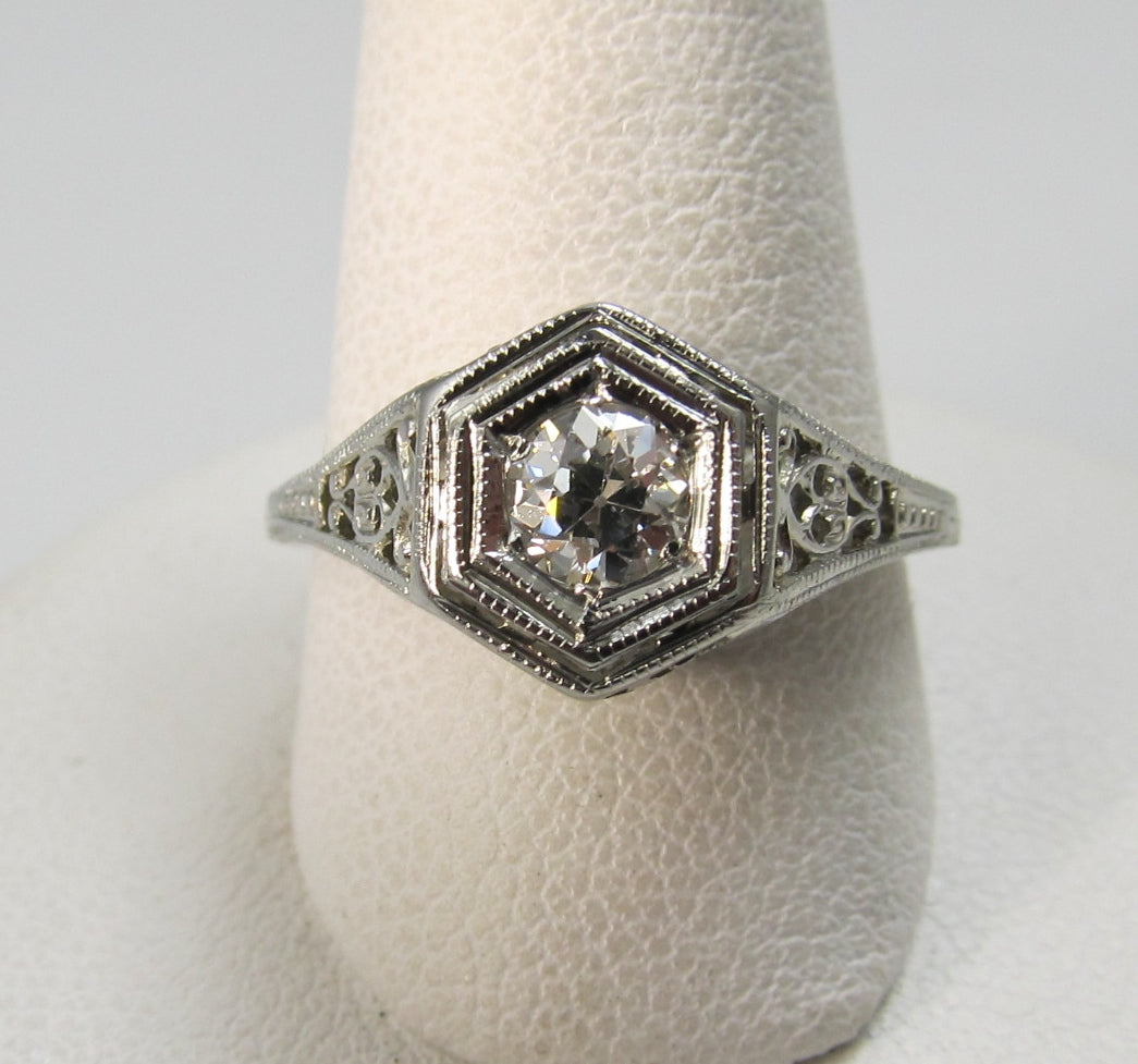 antique diamond ring, victorious cape may